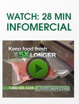 Watch 28 minute infomercial