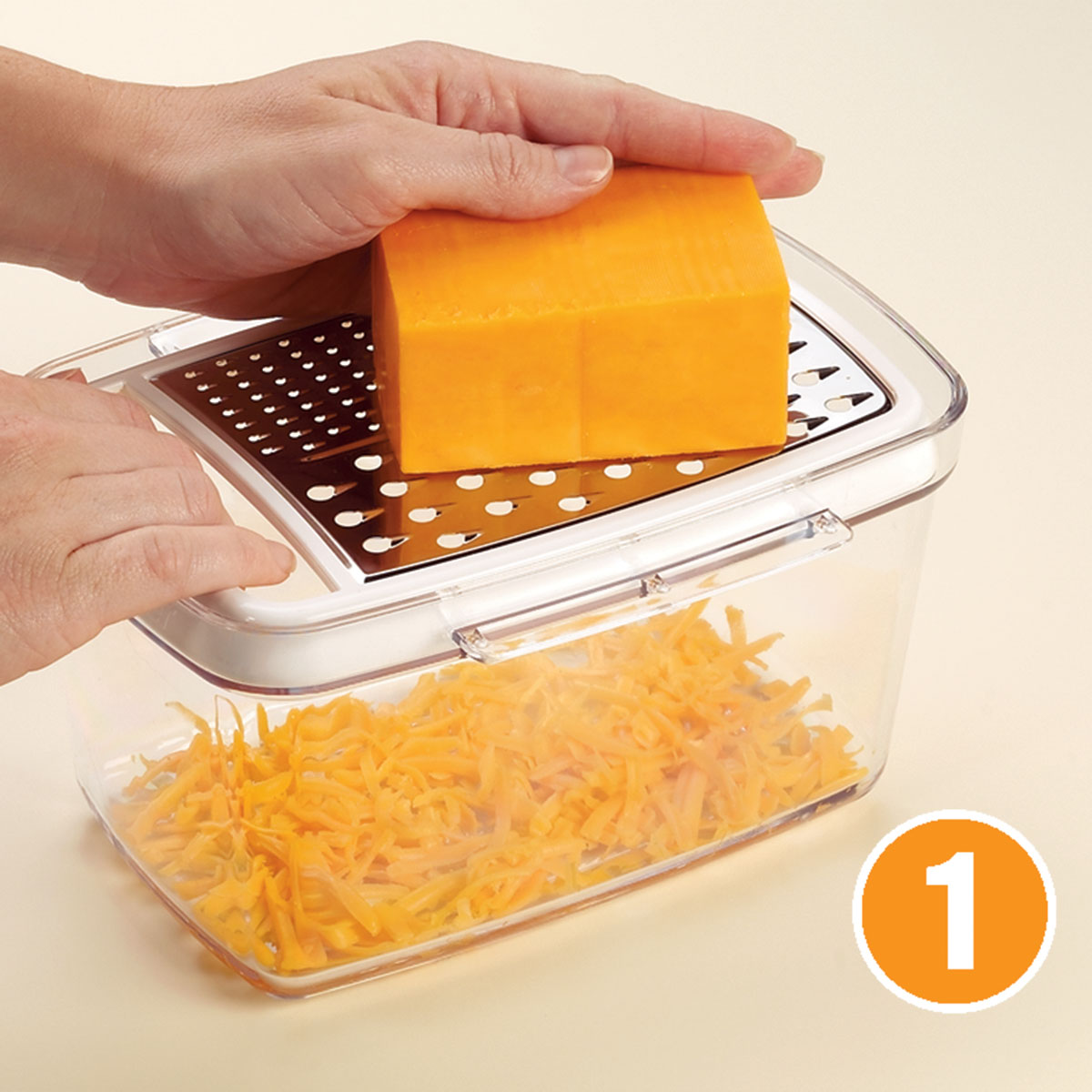 Foodsaver 174 Rectangular Canister With Bonus Cheese Grater