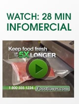 Watch 28 minute infomercial